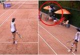 Visiškas absurdas: rezultatą sumaišęs teniso teisėjas sugadino mačą australei