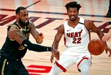 """""""Heat"""" paskutinių sekundžių dramoje pratęsė NBA finalo seriją"""