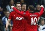 """Anglijoje – svarbi """"Manchester United"""" pergalė (+ kiti rezultatai)"""