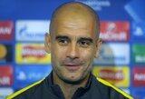 """P.Guardiola: """"Turime progą žengti didelį žingsnį į priekį"""""""