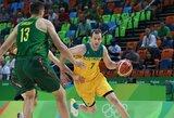 Australija stiprėja: rinktinei atstovaus ir kitas NBA žaidėjas
