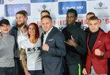 KOK turnyras Vilniuje: pasikeitę S.Maslobojevo ir T.Pakutinsko varžovai bei net 12 kg sunkesnis J.Mockos priešininkas