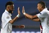 """PSG prezidentas apie Neymaro ir K.Mbappe ateitį: """"Jie niekada nepaliks mūsų klubo"""""""