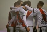 """""""Rayo Vallecano"""" futbolininkai Ispanijoje iškovojo trečiąją pergalę"""