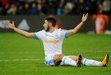 """Prancūzijos """"Ligue 1"""" pirmenybėse """"Lyon"""" ir """"Marseille"""" klubai barstė taškus"""