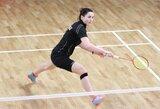 A.Stapušaitytė po dramatiškos kovos pateko į badmintono turnyro Izraelyje finalą