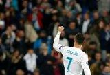 """Čempionų lygos karštinė Madride: neįskaitytas įvartis ir C.Ronaldo rekordas, """"Borussia"""" prasimušė į Europos lygą"""