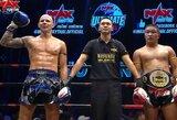 S.Gaižauskas sužeidė varžovą, bet teisėjai pergalę atidavė tailandiečiui