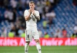 """T.Kroosas: """"Pirmoje """"La Liga"""" čempionato sezono pusėje iššvaistėme per daug taškų"""""""