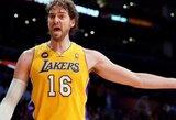 """Į savo aikštelę grįžę """"Lakers"""" krepšininkai nugalėjo Jutos ekipą"""