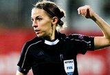 UEFA Supertaurėje pirmą kartą teisėjaus moteris