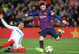 """""""Barcelona"""" jau galvoja apie naują L.Messi kontraktą"""