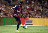 """Pamatykite: jaunasis """"Barcelona"""" talentas A.Fati treniruotėje pelnė puikų įvartį"""