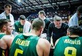 Rinktinės krepšininkai vasarą rinksis į stovyklą, bus žaidžiamos draugiškos rungtynės