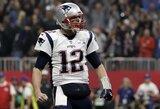 """NFL pasaulis priblokštas: 20 sezonų """"Patriots"""" klube praleidęs T.Brady pasiryžo naujam iššūkiui"""