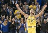 """M.Jordano judesį pakartojęs S.Curry: """"Neturėjau paaiškinimo, kas vyksta"""""""