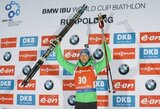 Pasaulio biatlono taurės etape Vokietijoje – netikėta E.Lesserio pergalė
