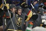 """NHL naujokai """"Golden Knights"""" pasiekė rekordą: sezono pradžioje laimėjo šešias iš septynių rungtynių"""