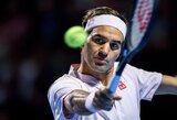 R.Federerį nuo 99-ojo karjeros titulo skiria tik viena pergalė