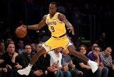 """""""Lakers"""" prarado ranką susilaužusį R.Rondo"""