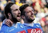 """""""Napoli"""" klubas – naujas Italijos čempionato lyderis"""