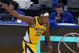 """""""Pacers"""" prarado M.Turnerį"""
