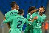 """Pergalę iškovojęs """"Real"""" pakilo į """"La Liga"""" turnyrinės lentelės viršūnę"""