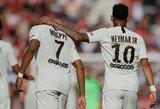 K.Mbappe išreiškė palaikymą traumą patyrusiam Neymarui