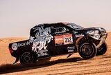 Dakaro ralis: trys lietuviai finišavo 20-uke, paaiškėjo, kas nutiko E.Juškauskui
