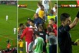 """Pamatykite: Marijampolės berniuką puolęs """"Maccabi"""" žaidėjas – išvytas iš aikštės"""