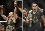 """C.Cyborg ir A.Nunes kova pagaliau turėtų įvykti """"UFC 232"""" turnyre"""