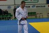 Lietuviai kukliai pasirodė Europos jaunimo dziudo čempionate