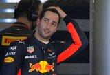 """Sensacingas D.Ricciardo persikėlimas į """"Renault"""" šokiravo """"Red Bull"""" vadovą"""