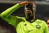 """Lille"" minimaliu rezultatu įveikė ""Montpellier"" futbolininkus"