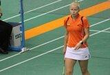 G.Voitechovskaja iškopė į pagrindinį badmintono turnyro Lenkijoje etapą