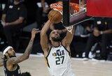 """NBA sezono atnaujinimas: """"Jazz"""" pergalę lėmė R.Goberto taškai"""