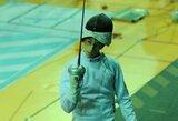 Europos jaunimo fechtavimo čempionate – A.Saloko sensacija