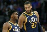 """""""Jazz"""" žvaigždės susitaikė ir virtualiai treniruojasi su komandos draugais"""