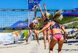 Baltijos jūros pakrantėje liejosi Lietuvos paplūdimio tinklinio čempionato aistros