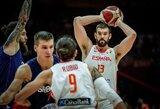 Ispanija pasiuntė be N.Jokičiaus likusią Serbiją į pirmąjį pralaimėjimą
