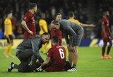 """""""Liverpool"""" vidurio gynėjų problema:  patvirtinta  D.Lovreno trauma, atskleista ir kitų žaidėjų situacija"""