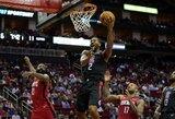 """""""Clippers"""" įveikė tragiškai iš toli atakavusią """"Rockets"""""""