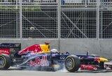 """S.Vettelis: """"Lenktynių pabaigoje pasielgėme teisingai"""""""