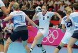 Olimpiniame moterų rankinio turnyre trys rinktinės žengia be nesėkmių