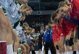 Lietuvos U19 merginų rankinio rinktinė Europos čempionato pusfinalyje nusileido čekėms