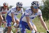 """I.Konovalovas ir G.Kaupas antrąjį """"Tour de Luxembourg"""" dviračių lenktynių etapą baigė kartu su lyderių grupe"""