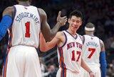 """L.Kleiza neišsiskyrė, o """"Raptors"""" dar sykį pralaimėjo """"Knicks"""" ekipai (VISI REZULTATAI)"""