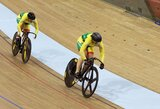 Pasaulio taurės etape Londone S.Krupeckaitė ir M.Marozaitė džiugino padidėjusiu greičiu