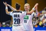 Pasaulio moterų rankinio čempionatą pradėjo ir lietuvių kilmės žaidėjos, Pietų Korėjos rinktinė pateikė sensaciją