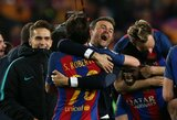 """L.Enrique: """"Niekas nenustojo tikėti, kad galime laimėti – komanda buvo neįtikėtina"""""""